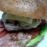 Hamburger con pane fatto in casa, favolosi!!