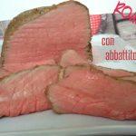 Roast beef  con abbattitore: un amico in cucina il Fresco