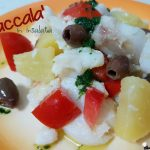 Baccalà in insalata cotto a bassa temperatura con Fresco
