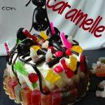 Torta di caramelle, perfetta per un compleanno allegro e goloso!
