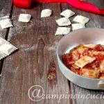 Ravioli di carne, ricetta