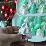 Alberelli di Natale di meringa magici, semplici e veloci