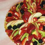 Crostata di frutta, bella e buonissima